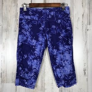 Calvin Klein | Purple Long Workout Shorts Medium